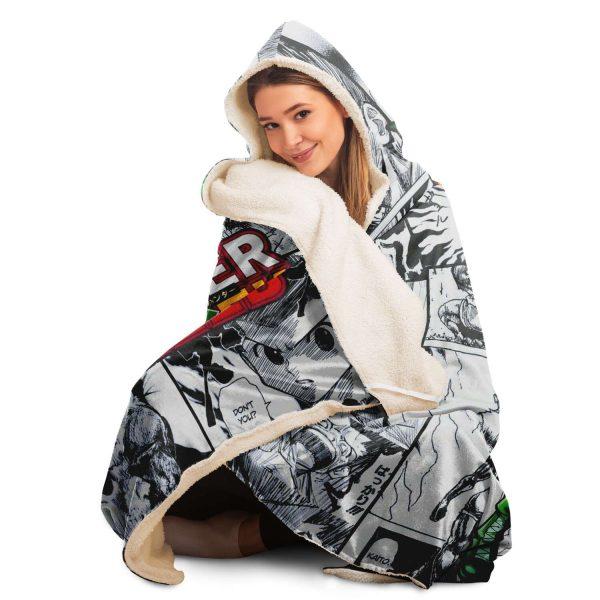 HxH Merch - Gon Freecss Hooded Blanket New Style No.2